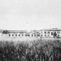 Lato nord dello stabilimento, anni '20 Da: Officine di Casaralta, s.l., s.d