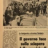 L'Unità, Cronaca di Bologna, 20.04.1968.