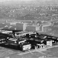 Rappresentazione dello stabilimento dopo la ricostruzione nel secondo dopoguerra Da: Officine di Casaralta, s.l., s.d