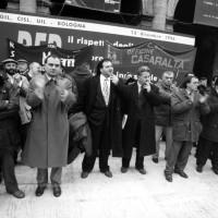 Manifestazione provinciale unitaria per l'occupazione, 13 dicembre 1996