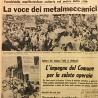L'Unità, Cronaca di Bologna, 08.06.1968.