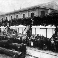 Maestranze nel 1921 Da: Officine di Casaralta, s.l., s.d