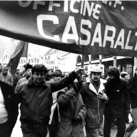 Lavoratori Casaralta in corteo, 1975, Bologna, Da: Casaralta.