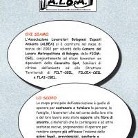 Volantino presentazione Associazione Albea.