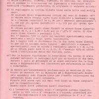Accordo aziendale 30.12.1970, Da: Archivio contrattazione Fiom Bologna.