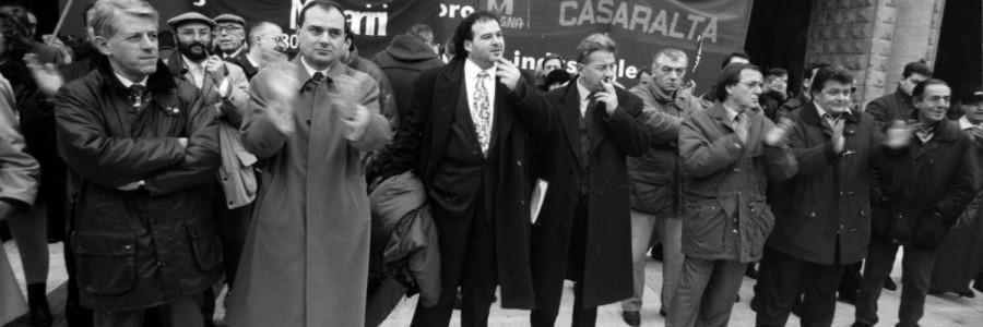 Contro la dismissione: gli operai occupano la fabbrica (1996-1998)